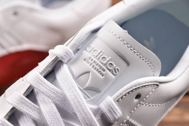 阿迪达斯 ADIDAS新款贝壳头板鞋情侣小白鞋