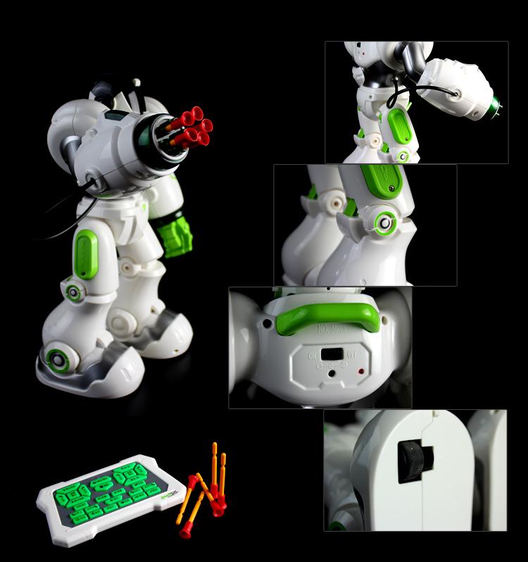 盈佳 新威尔5088机械战警儿童智能遥控机器人