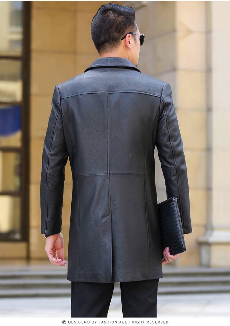 【男士长款皮风衣】_男士长款皮风衣价格_男士长... _马可波罗网