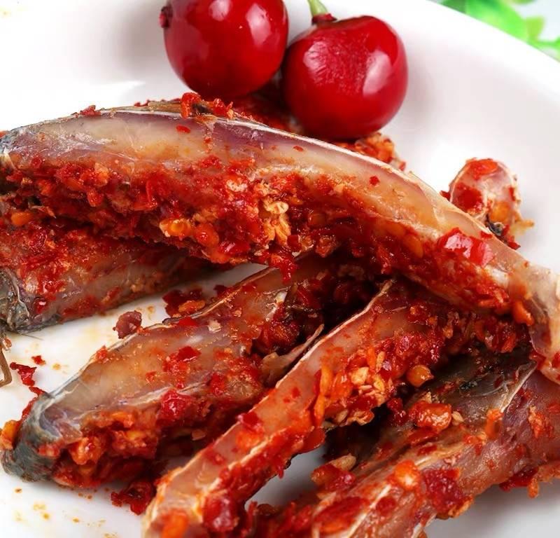 从江腌鱼:从江农特产品、又香、又辣、又酸
