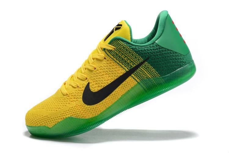 耐克 NIKE 篮球鞋男鞋 新款科比11代编织战靴全明星男士运动鞋训练跑步鞋篮球鞋