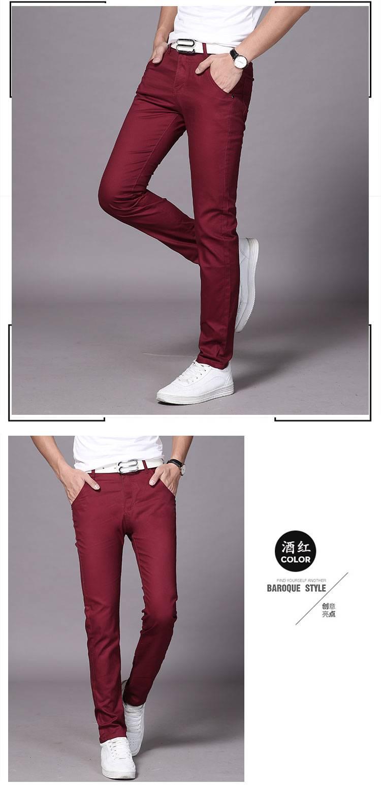 小脚休闲裤,时尚型男魅力就在此