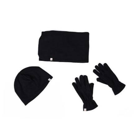 amp帽子围巾手套三件套男女情侣款 kw9129