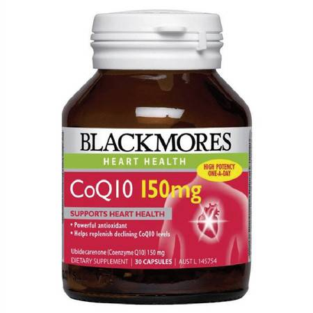 Blackmores Co Enzyme Q10 150mg 心脏宝辅酶Q10 30粒 X 2