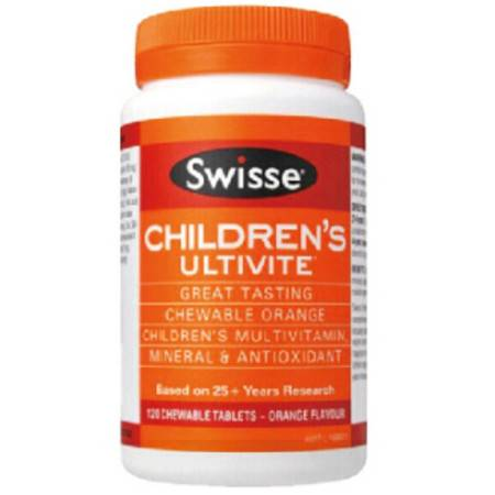 Swisse Childrens Ultivite 儿童复合维生素 120粒 X 2