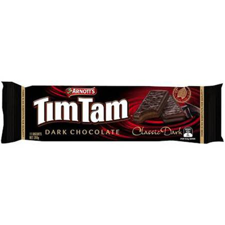 Arnotts Tim Tam Chocolate Biscuits Classic Dark Choc 黑巧克力饼干 X 1