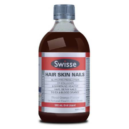 Swisse Hair Skin Nails Liquid 活力胶原蛋白液 500ml X 2图片