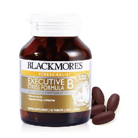 Blackmores Executive B Stress Formula B族减压配方 62片 X 3