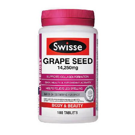Swisse Grape Seed 葡萄籽 180粒 X 3
