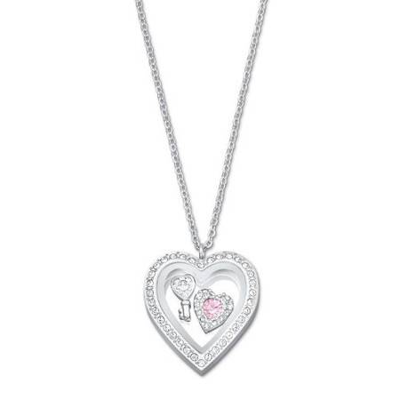 施华洛世奇(Swarovski) Treasure Heart Locket 链坠 项链