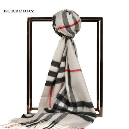 Burberry Giant Icon 羊绒围巾#