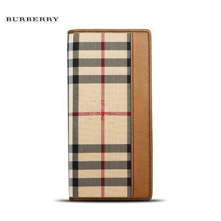 Burberry Cavendish 长款对折钱夹 H
