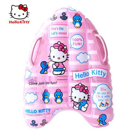 HELLO KITTY 儿童救生游泳板浮板儿童游泳充气浮板 夏季新品
