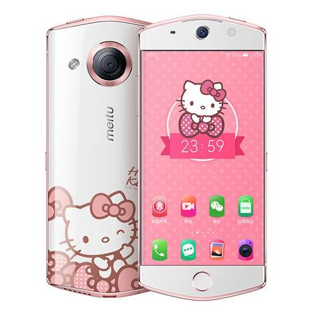 Meitu/美图 美图 M6 Hello Kitty 特别版 2100万像素 自拍大明星 (白色)