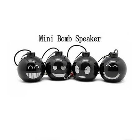 Mini Wired Bomb Speaker MP3/MP4/MP5 迷你小音箱XI4203