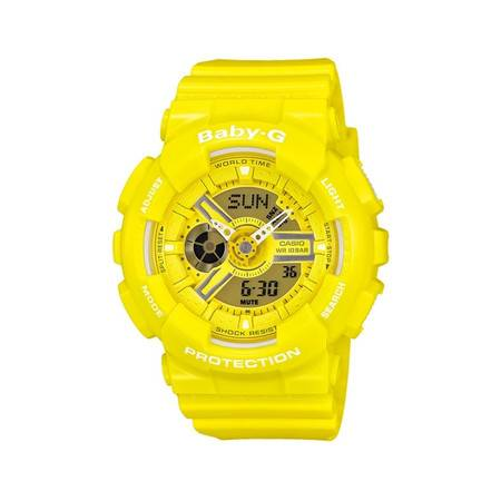 卡西欧CASIO-G-SHOCK&BABY-G系列 BA-110BC 女士石英表