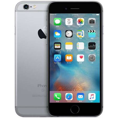 Apple 苹果 iPhone6s plus(A1699)4G手机 全网通128G灰色
