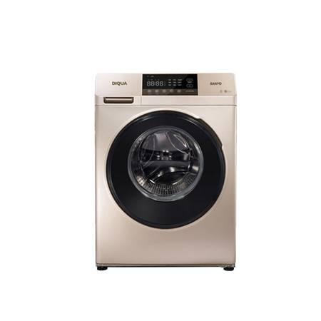 三洋帝度(sanyo)dg-f100570be 10公斤大容量 下排水 变频滚筒洗衣机