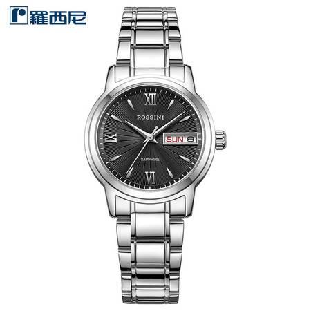 羅西尼 簡約商務經典系列 時尚男女可選防水石英腕表  星期、日歷雙歷顯示手表