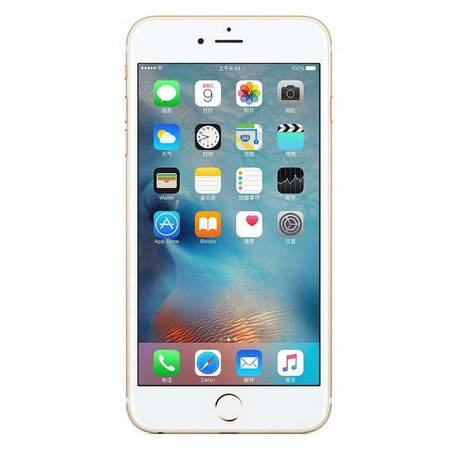 Apple 苹果 iPhone6s plus 4G手机 全网通 128G 金色