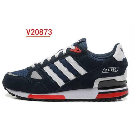 正品冬季Adidas阿迪达斯男鞋zx750跑步鞋三叶草复古休闲鞋 V20873