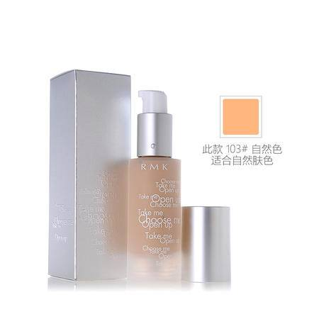RMK Gel Creamy Foundation 水凝柔光粉底霜103 #自然色