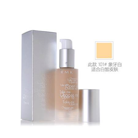 RMK Gel Creamy Foundation 水凝柔光粉底霜 101#象牙白