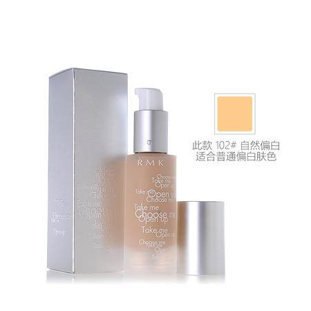 RMK Gel Creamy Foundation 水凝柔光粉底霜 102 #自然偏白