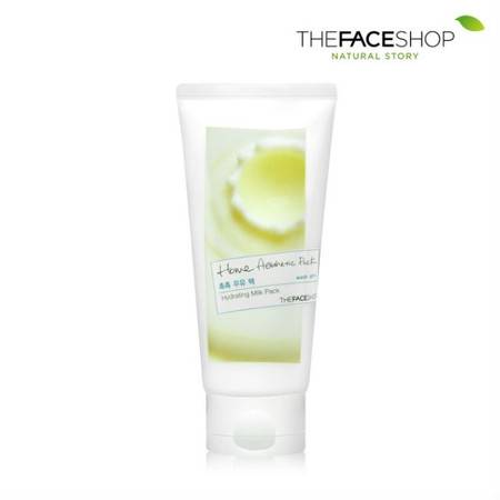 专柜正品 The Face Shop 家庭美学牛奶面膜 120ml