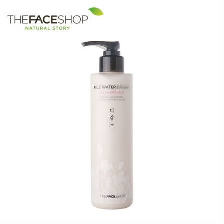 专柜正品 The Face Shop 大米卸妆乳 200ml