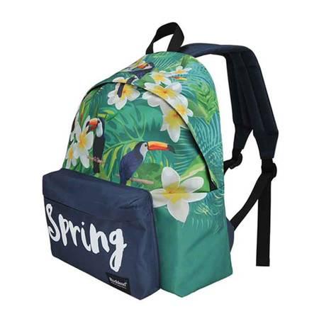 洛克蘭/Rockland 春雨系列雙肩包學生書包休閑背包 Spring系列背包 L