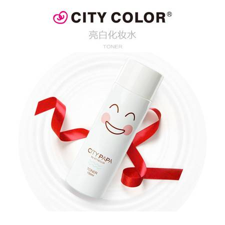 city color PAPA 拍拍亮白化妆水 150ml