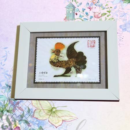 永川馆蝶画 十二生肖 鸡 外框尺寸 25cm 20cm 幅图片大全 邮乐官方网站