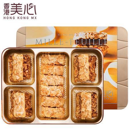 中国香港美心果仁酥 甜心酥礼盒休闲零食糕点饼干年货春节送礼包