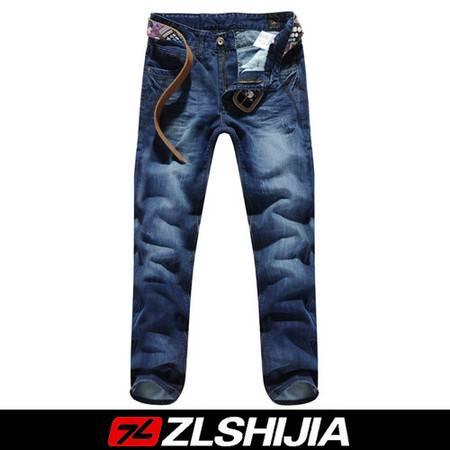 1130518战狼世家2011秋冬季新品浅蓝色韩版休闲男士牛仔裤