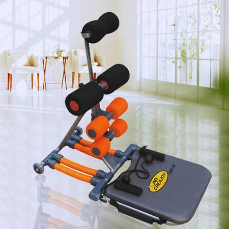 创悦 家用运动收腹机 CY-9009 (计数器/拉绳/四弹簧)弹簧健腹器收腹机【收腹机】