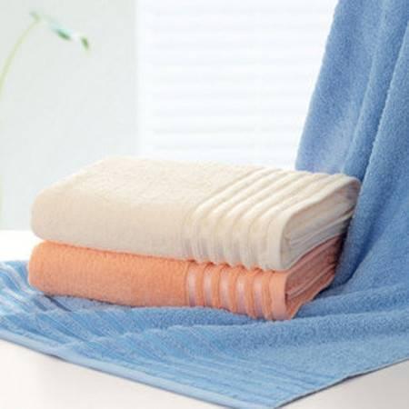 洁玉  纯棉素色多臂浴巾 素颜 柔软吸水JY-1013B米色(76x152cm)