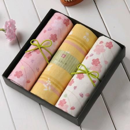 古系列三条毛巾礼盒