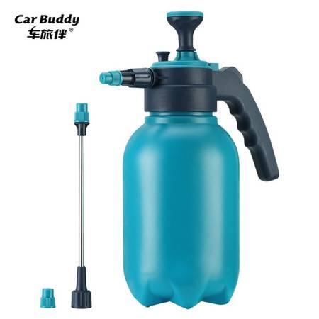 车旅伴 喷壶升级款高品质家用浇花喷壶气压式喷雾器消毒喷壶 双喷头 2L HQ-QX060