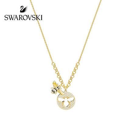 施华洛世奇(Swarovski)可爱蜜蜂项链 5365641