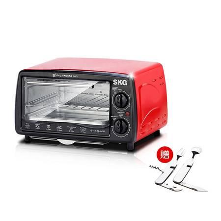 SKG多功能电烤箱12L KX1701赠依铂雷司多功能餐具套装