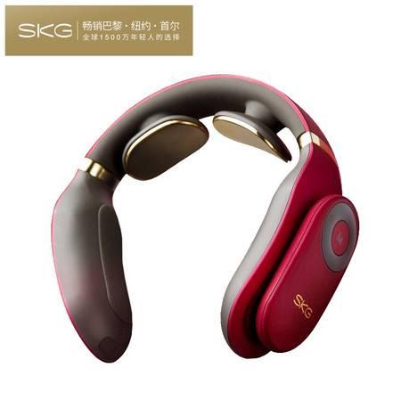 SKG 颈椎按摩器 经络电脉冲针灸护颈仪4098(尊贵款)