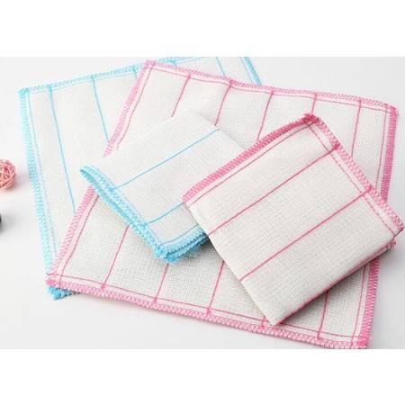 竹纤维抹布 厨房抗油吸水洗碗巾8片量贩装