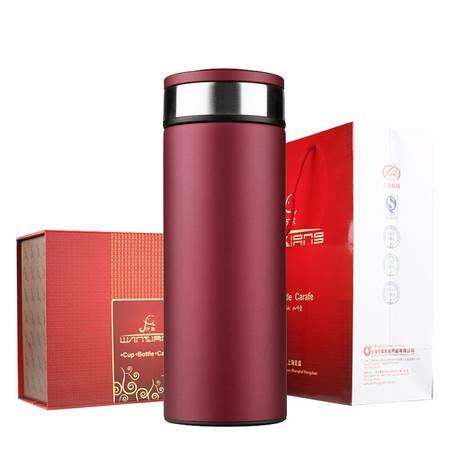 万象(WANXIANG)真空商务型保温杯 不锈钢男女士办公水杯 时尚礼盒装直身杯