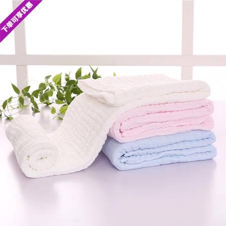 费雪 毛巾浴巾 A类婴幼儿童软绵绵纱布浴巾 单条