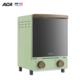 ACA 北美电器 复古三层家用立式多功能晶钻内腔12L迷你小烤箱ATO-M12D