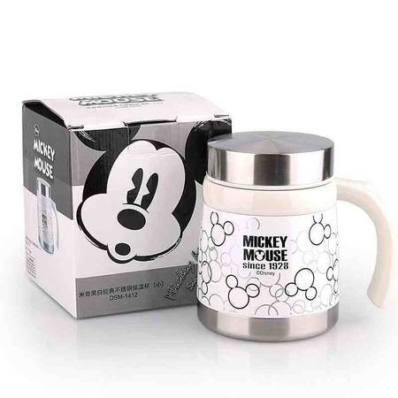 迪士尼/DISNEY 可爱儿童水杯 直身萌系保温杯