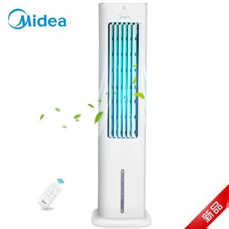 美的/MIDEA 空调扇 遥控单冷型加水家用小型立式静音冷风扇 AAD10CR