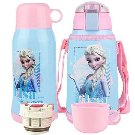 迪士尼/DISNEY 304不锈钢儿童喝水杯 男女学生防漏水壶保温杯 DZ-8055