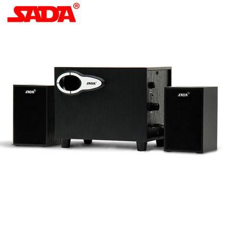 赛达(SADA) D-200G木质电脑音响 笔记本音箱